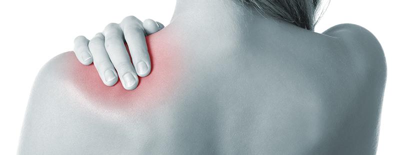 durere și criză în articulațiile umărului