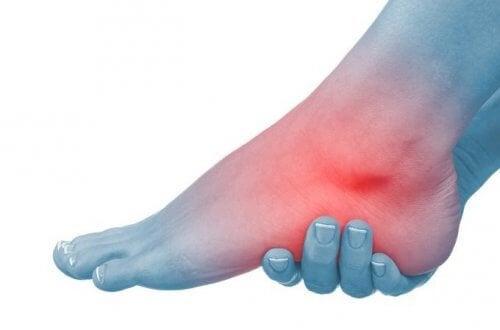 dureri de gleznă după o lungă plimbare artroza articulațiilor vertebrale arcuite și costale
