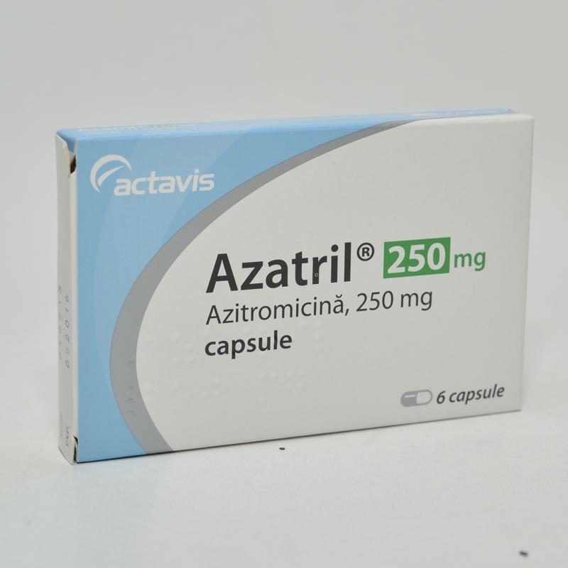 Azitromicina mg -cpr x 3 - Sandoz (Lek*, Antibiotice, antiinfectioase, antimicotice
