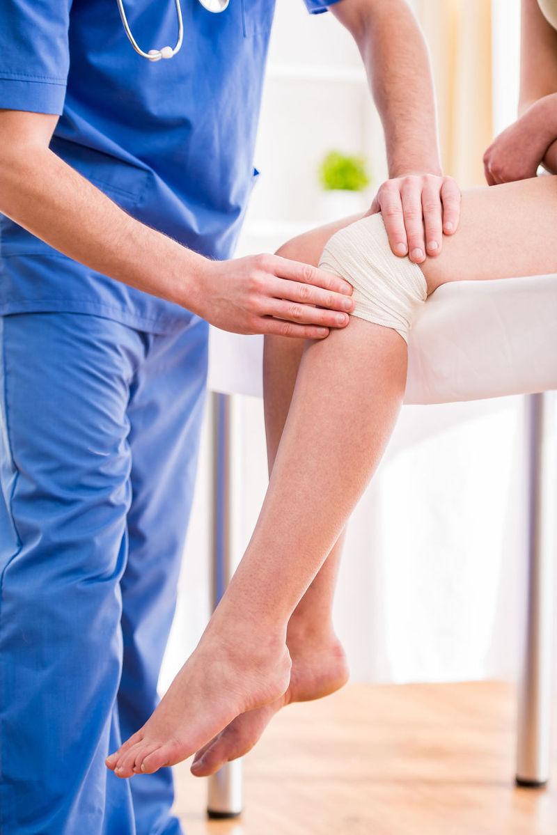 Durere la genunchi după ghemuite