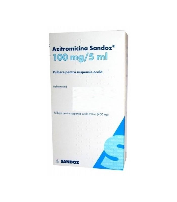 Azitromicina – prospect actualizat