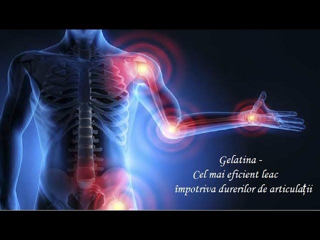 artroza pentru tratamentul articulațiilor cu gelatină leac pentru durerile genunchiului don