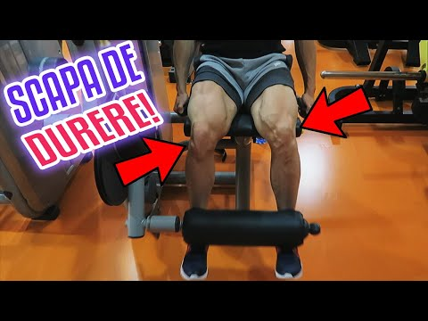 articulațiile genunchilor crunch artroza articulației piciorului provoacă tratament