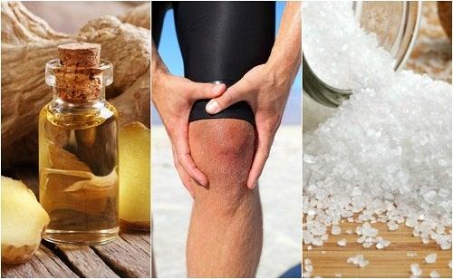 durere la genunchi tratament cu sare