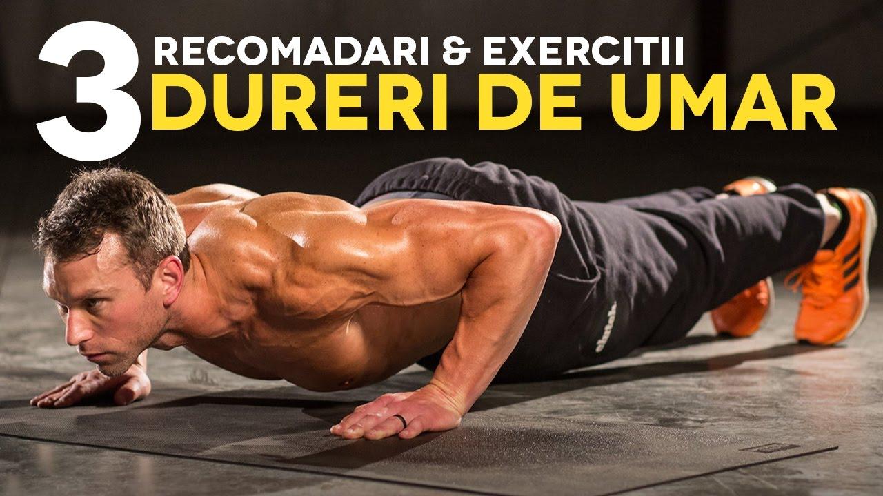 exercițiu pentru dureri de umăr