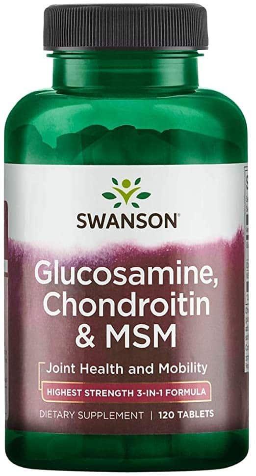 producerea de glucozamină și condroitină în organism unguent pentru entorsa articulației șoldului