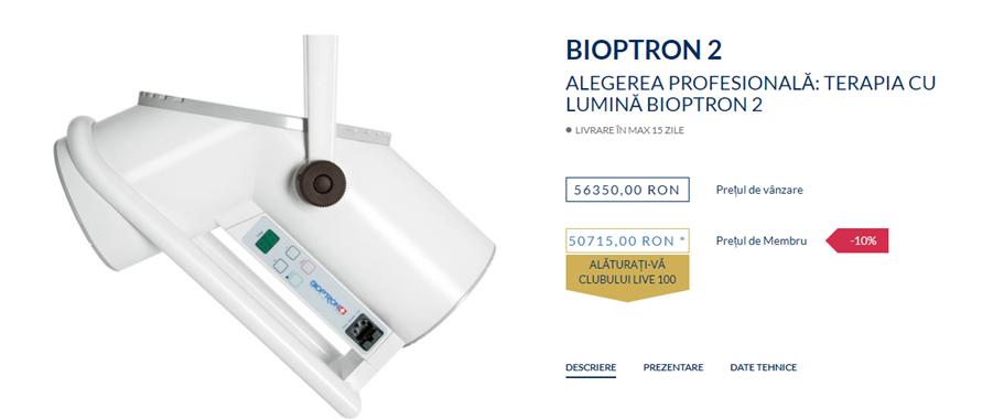 Terapia cu lumină BIOPTRON – Terapia cu lumină