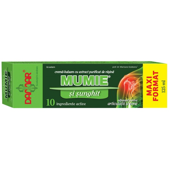 Crema balsam cu sunghit si rasina mumie, 75 ml, Damar
