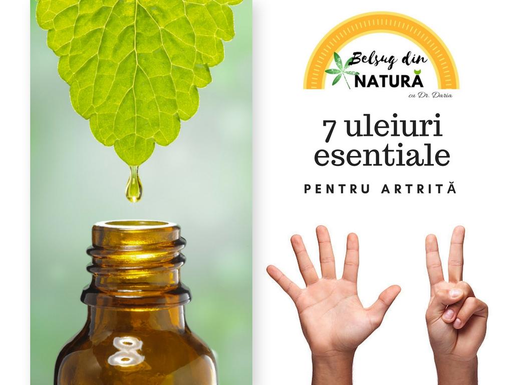 uleiuri esențiale pentru bolile articulare