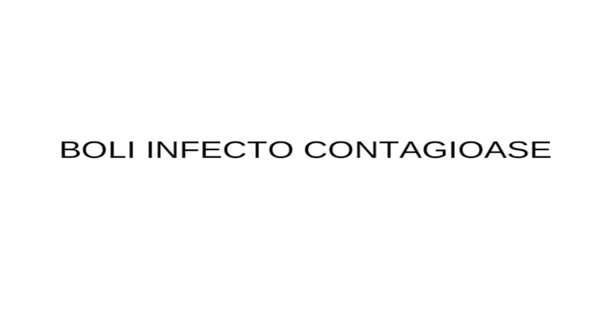 Boli articulare contagioase